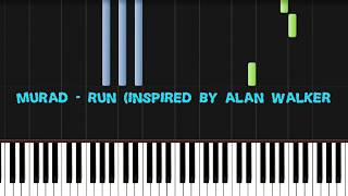 Murad Run PIANO Synthesia Inspired By Alan Walker NCN Release.mp3
