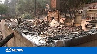 Glass Fire damage to historic Napa County wineries