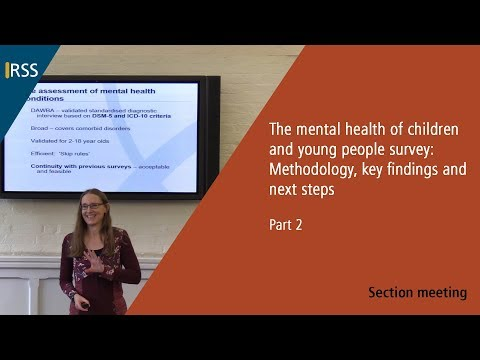 The Mental Health of Children and Young People Survey - Part 2