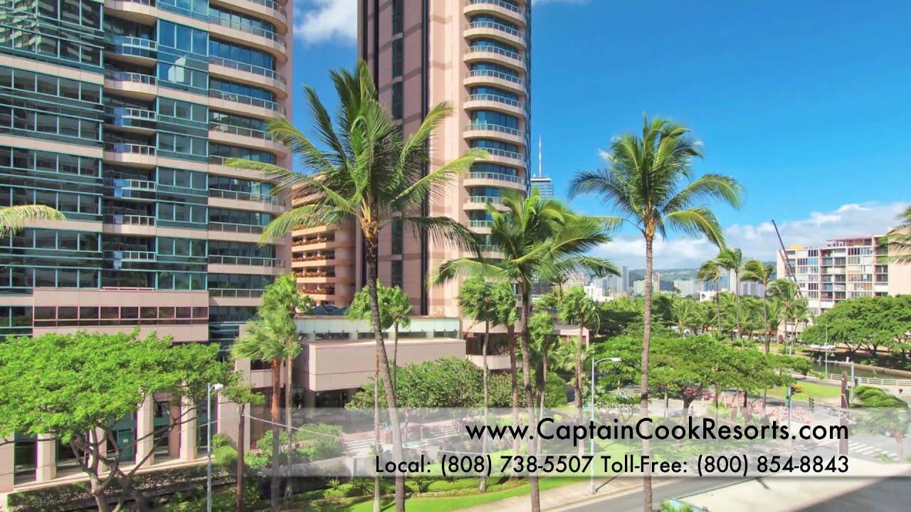 Royal Aloha 507 Waikiki Vacation Rental Youtube