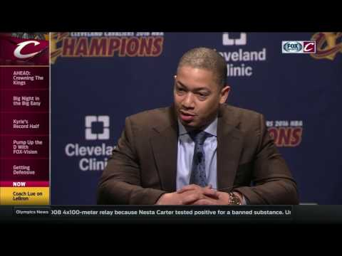 Tyronn Lue addresses Cavaliers
