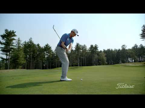 Webb Simpson golf swing in slow motion 4K