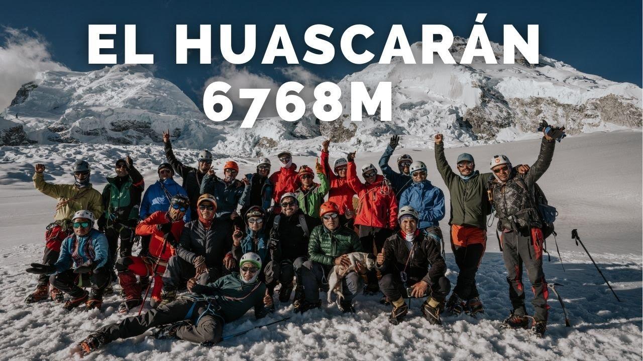 ¡SUBÍ A LA MONTAÑA MÁS ALTA DE PERÚ! 🇵🇪 Llevamos una Bandera peruana de 200 m al nevado HUASCARÁN 🇵🇪