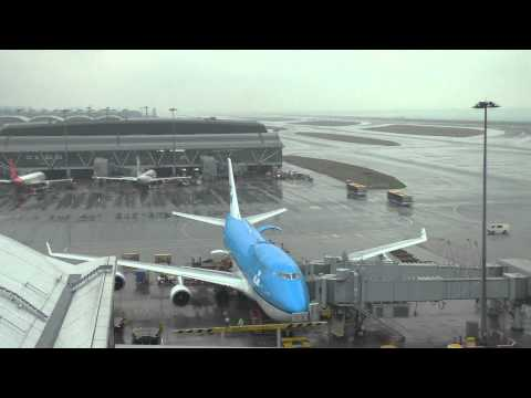 KLM 747 City of Seoul Turn around HONG KONG with ATC communications