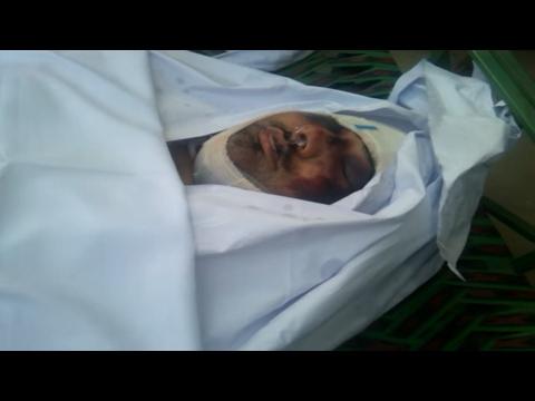 LAST VIEW OF MASHAL KHAN. Pakistan my jan