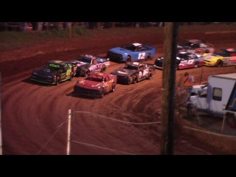 Winder Barrow Speedway Modified Street Feature Race 8/27/16