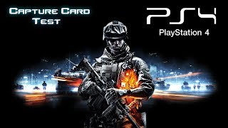 Battlefield 4 Gameplay | PS4 Game Capture Card Quality Test / Review
