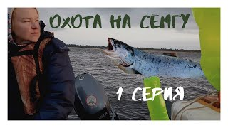 рыбалка сёмга salmon Охота на сёмгу на реке Мезень Архангельская область 1 серия