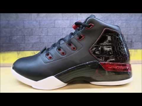 Air Jordan 17 + Chicago Bulls Retro Sneaker Detailed Look Review With Dj Delz
