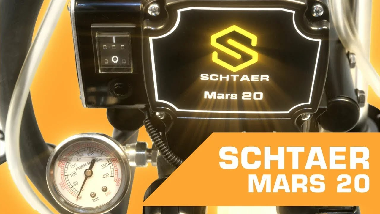 Окрасочный аппарат SCHTAER MARS 20   Видеообзор от покупателя
