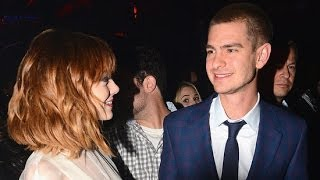 Andrew Garfield And Emma Stone's Costars Feel Their Heat