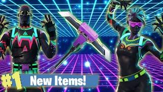 New Neon Glow Skins & Pickaxe, Glider! Fortnite Live Stream!