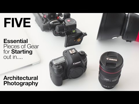 5 ESSENTIAL Pieces Of Gear For ARCHITECTURE PHOTOGRAPHY