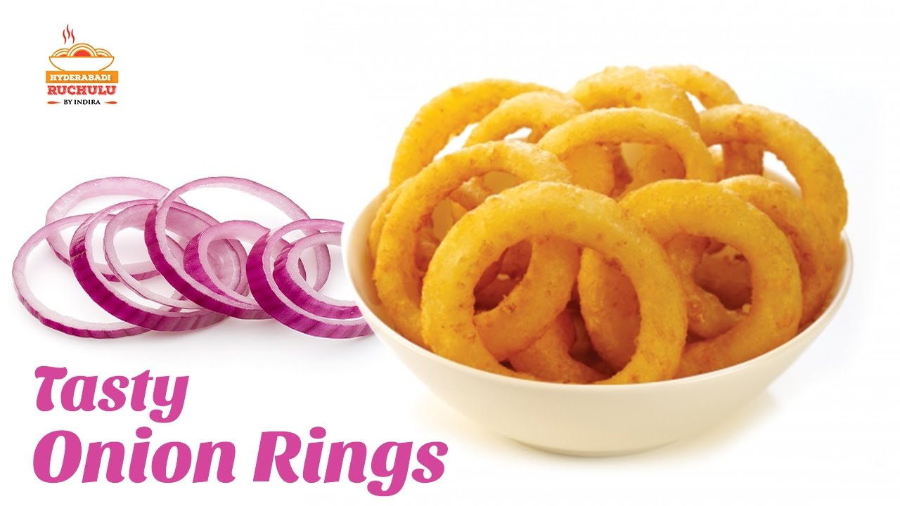 Onion Rings Recipe | Crispy Onion Rings | How to Make Onion Rings ...