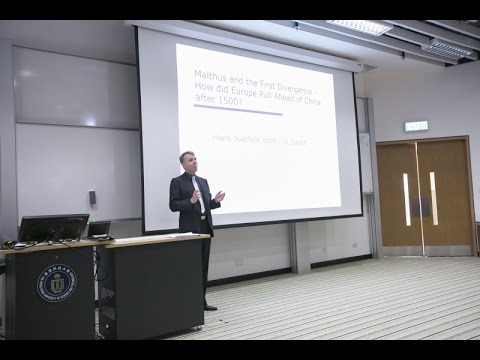 IAS Distinguished Lecture: Prof Hans-Joachim Voth (11 May 2015)