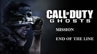 Call of Duty Ghosts Mission End Of The Line Gameplay Part 6 No Commentary
