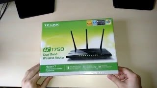 Unboxing Router Wireless TP-LINK Archer C7 AC1750