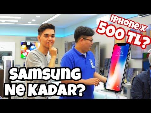 Kore'de Elektronik Alet Fiyatları! 500TL IPHONE X?
