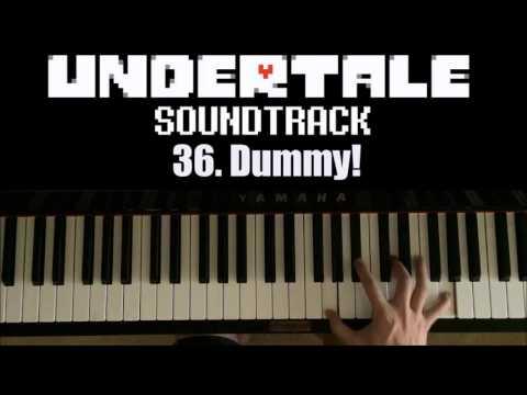 Undertale OST - 36. Dummy! (Advanced Piano Cover)