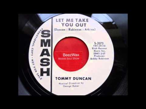 tommy duncan - let me take you out
