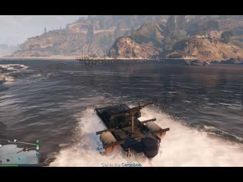 Import/Export, The Cargobob Way - Barge