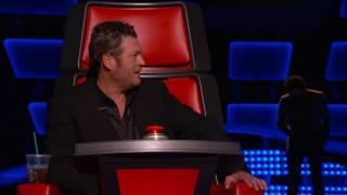 The Voice USA - Anthony Riley ( I Got You - I Feel Good)
