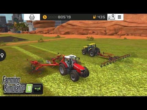 Fs18 farming simulatör 18 / yeni çim tarlası almak _ receiving new grass field / # 79 HD /