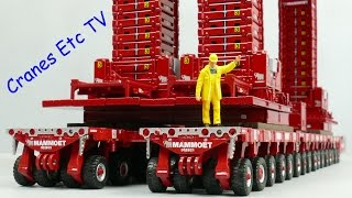 IMC Mammoet Converter Exchange Project by Cranes Etc TV