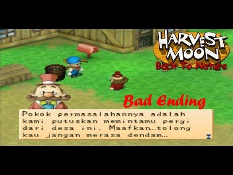 Harvest Moon Back To Nature - Bad Ending