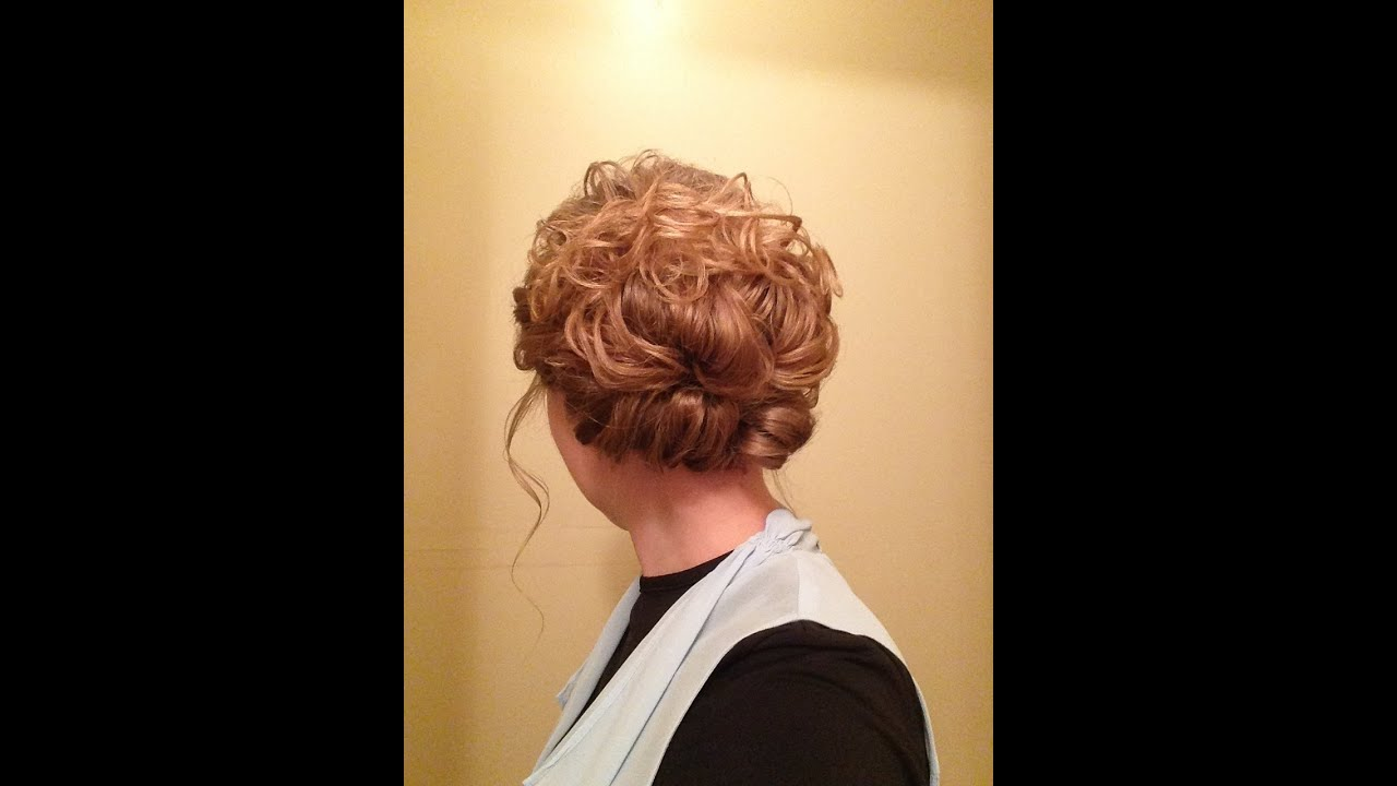 Pentecostal Easy Curly Updo YouTube