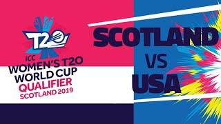 ICC T20WC Qualifier: SCO v USA – Full stream