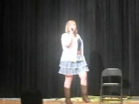 Harrisburg Middle School talent show Emilee Mcintare Part 1