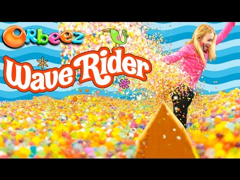 MILLIONS of ORBEEZ Wave Rider Challenge!! | Official Orbeez thumbnail