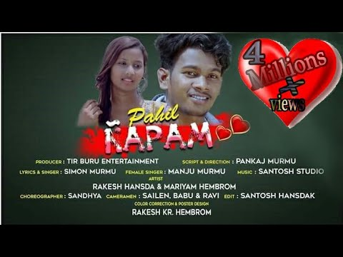 COLLEGE RE PAHIL NAPAM//NEW SANTHALI VIDEO SONG//MARIYAM//TIR BURU