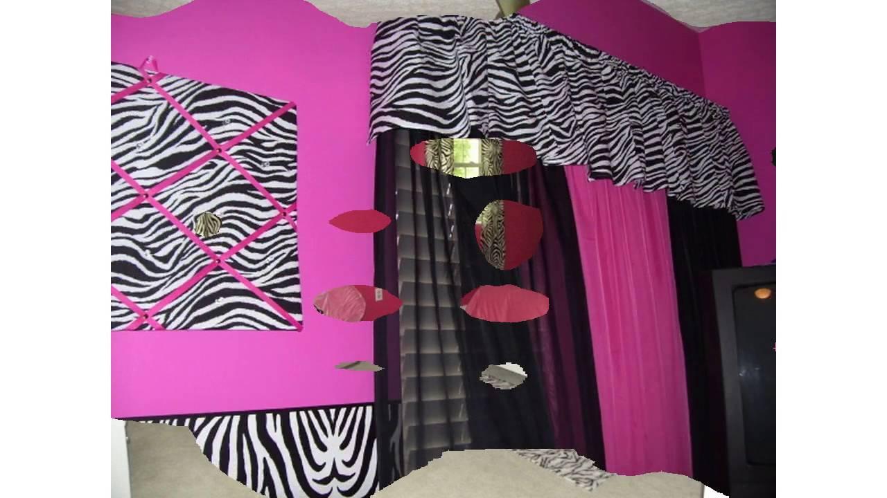 Rosa zebra schlafzimmer ideen - YouTube