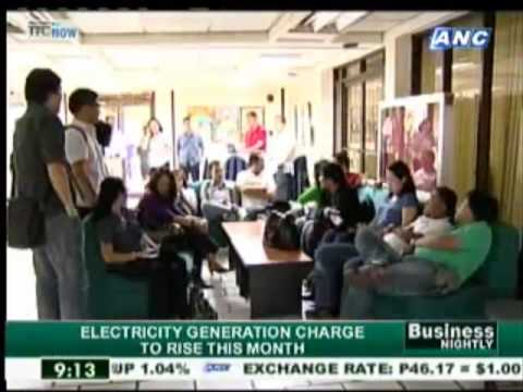 Electricity generation charge to rise