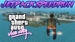 GTA Vice City JETPACK Speedrun
