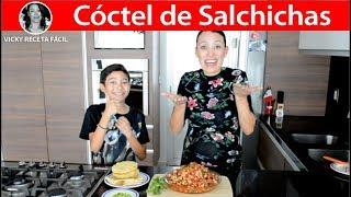 COCTEL DE SALCHICHAS | Vicky Receta Facil