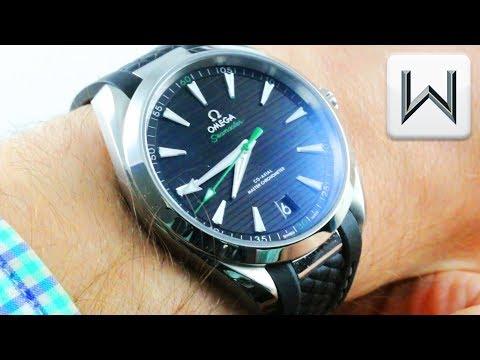 Omega Seamaster Aqua Terra (Sergio Garcia) Golf Edition 220.12.41.21.01.002 Luxury Watch Review