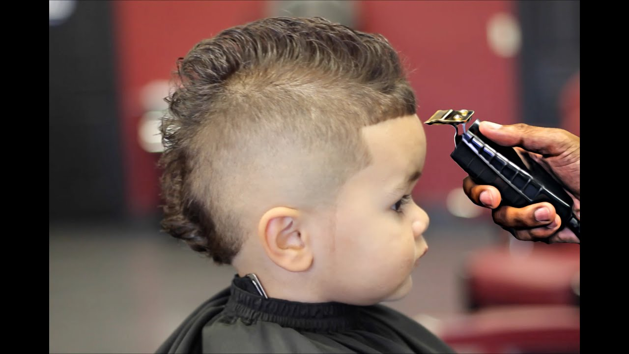 freshest mohawk on my 2 years old son hd