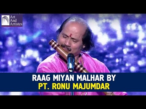 Raag Miyan Malhar By Pt Ronu Majumdar | Flute | Hindustani Classical | Idea Jalsa | Art And Artistes