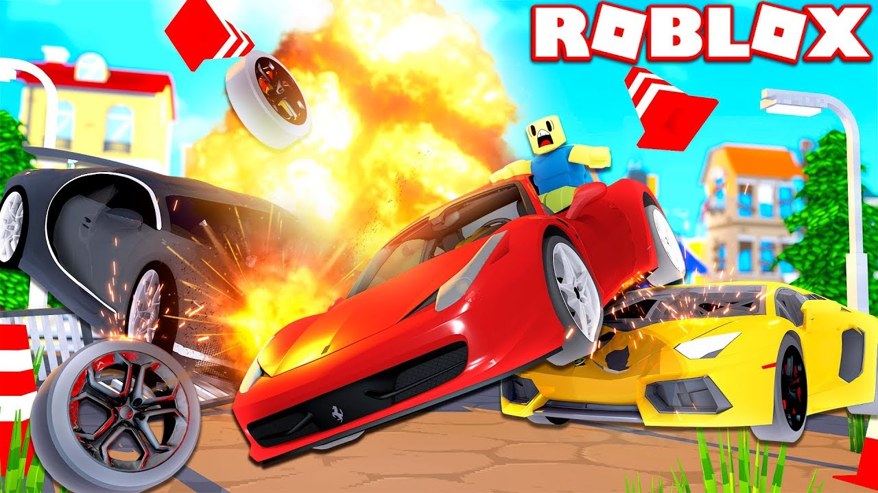 Car Crash Simulator In Roblox Crashing World S Most Expensive