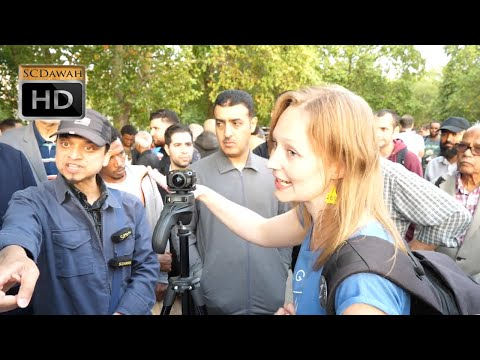 P1 - Animal Rights!! Brother Mansur & Vegan Girl | Speakers Corner | Hyde Park