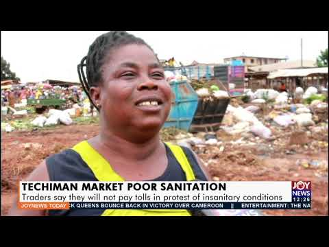 Traders say they will not pay tolls in protest of insanitary conditions- Joy News Today (21-9-21)