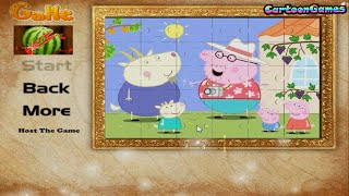 Puzzle: Peppa Pig On The Village