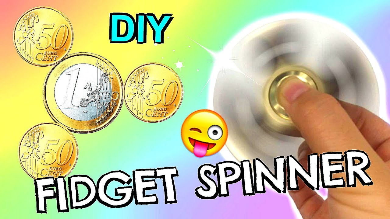 diy fidget spinner ohne kugellager aus geld selber bauen anleitung i patdiy youtube. Black Bedroom Furniture Sets. Home Design Ideas