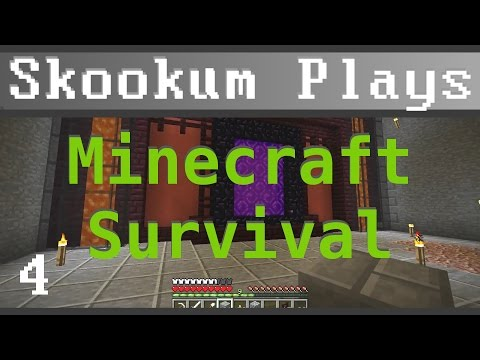 "Skookum Plays Minecraft - Episode 4 ""Demolition Expert"""