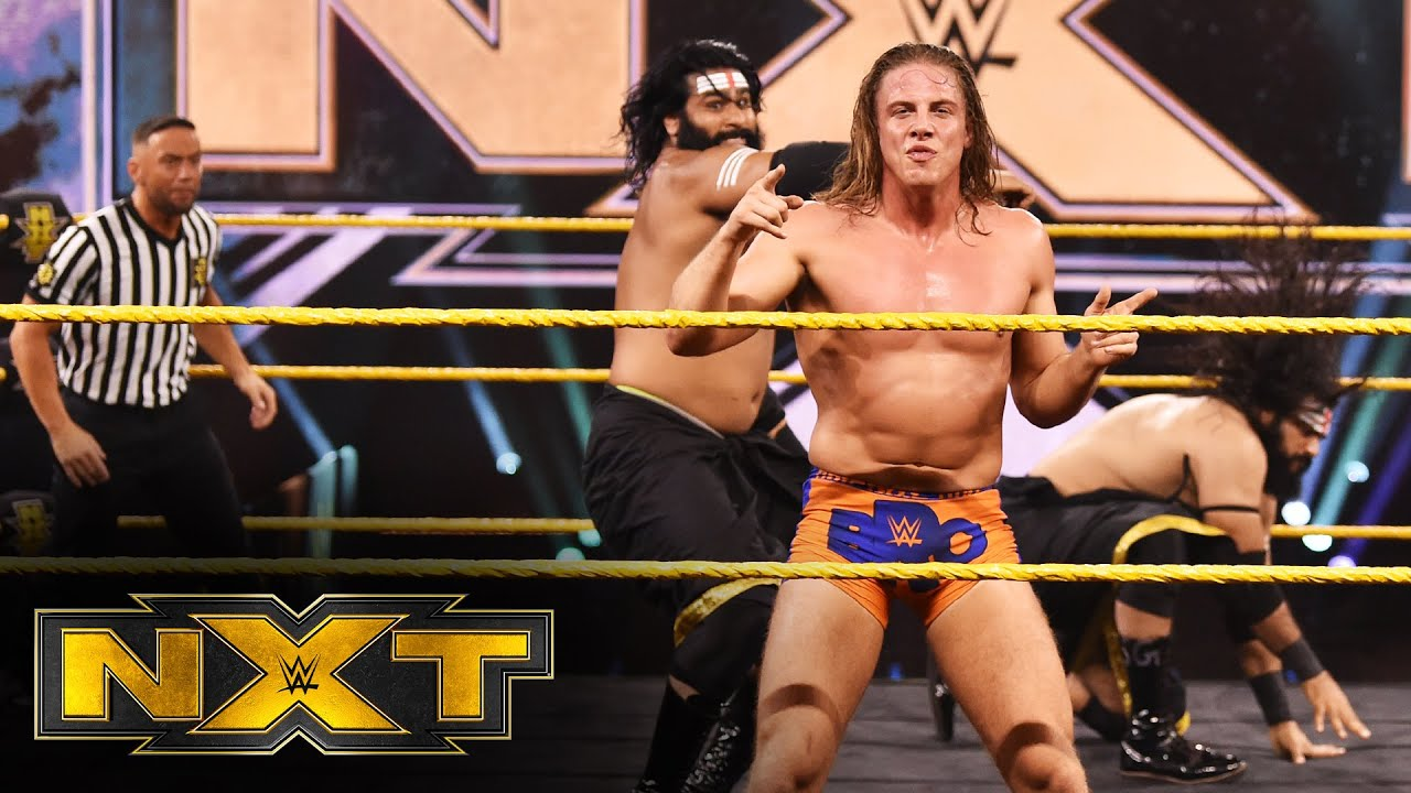 Malcolm Bivens introduces Matt Riddle to his future: WWE NXT, March 25, 2020