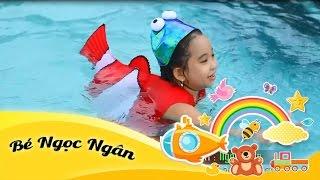Cá vàng bơi | Bé Ngọc Ngân