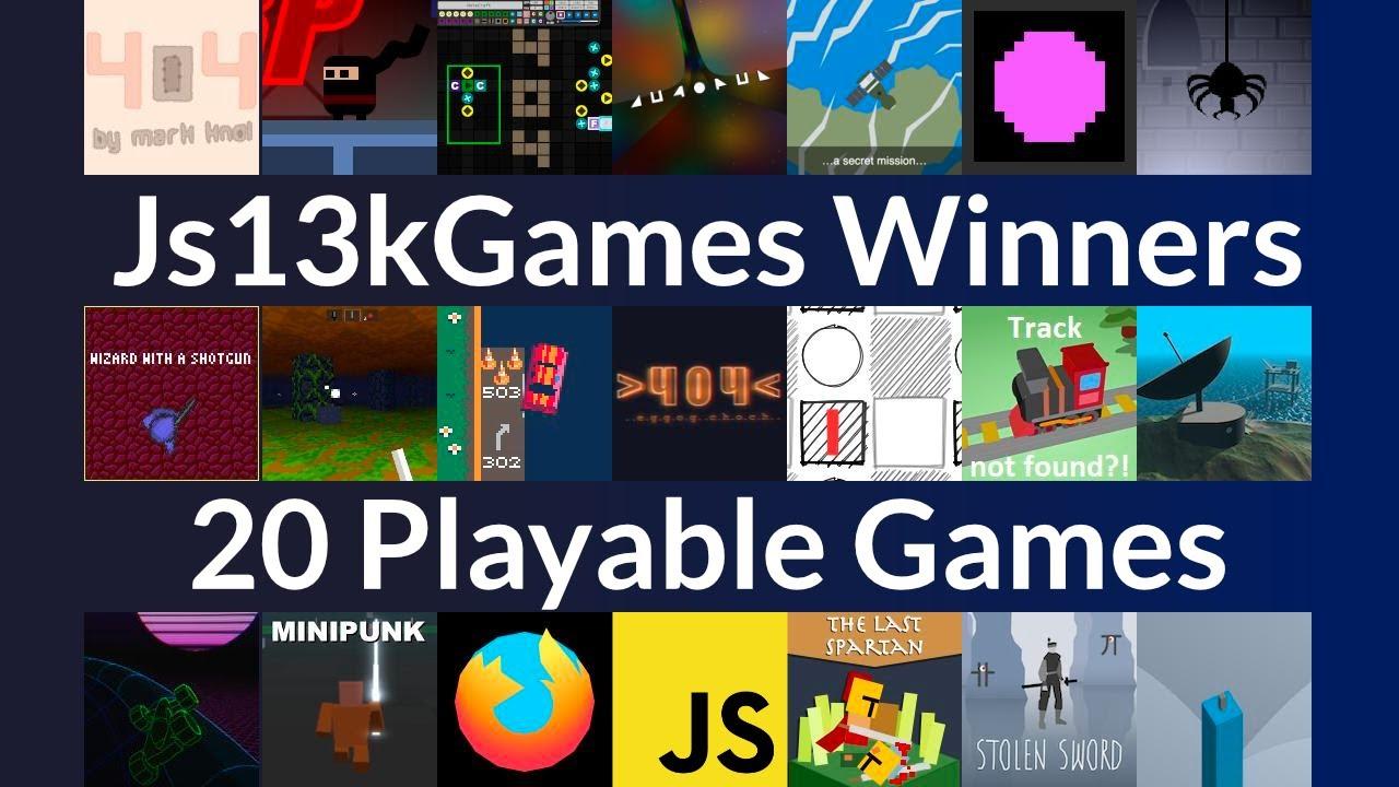 20 Award-Winning JavaScript Games